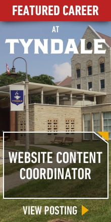 Featured Career at Tyndale, Website Content Coordinator