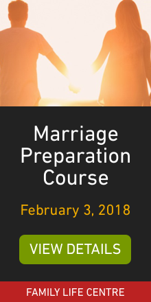 Marriage Preperation course, February 3, 2018
