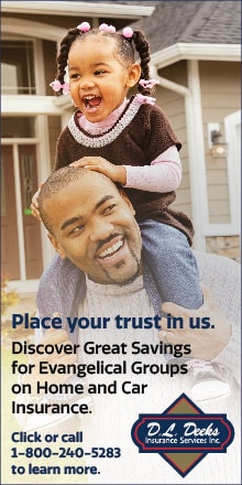 ad - discover great savings for evangelical groups on home and car insurance